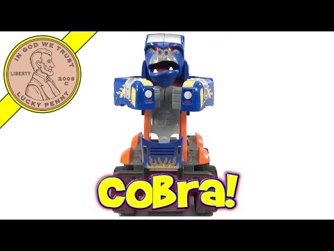 Fisher-Price Motorized King Cobra Car-Nivore, Transforms From Truck To Robotic Ape