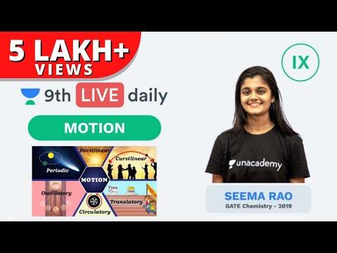 Motion - Lecture 1 | Class 9 | Unacademy Foundation - Physics | Seema Rao