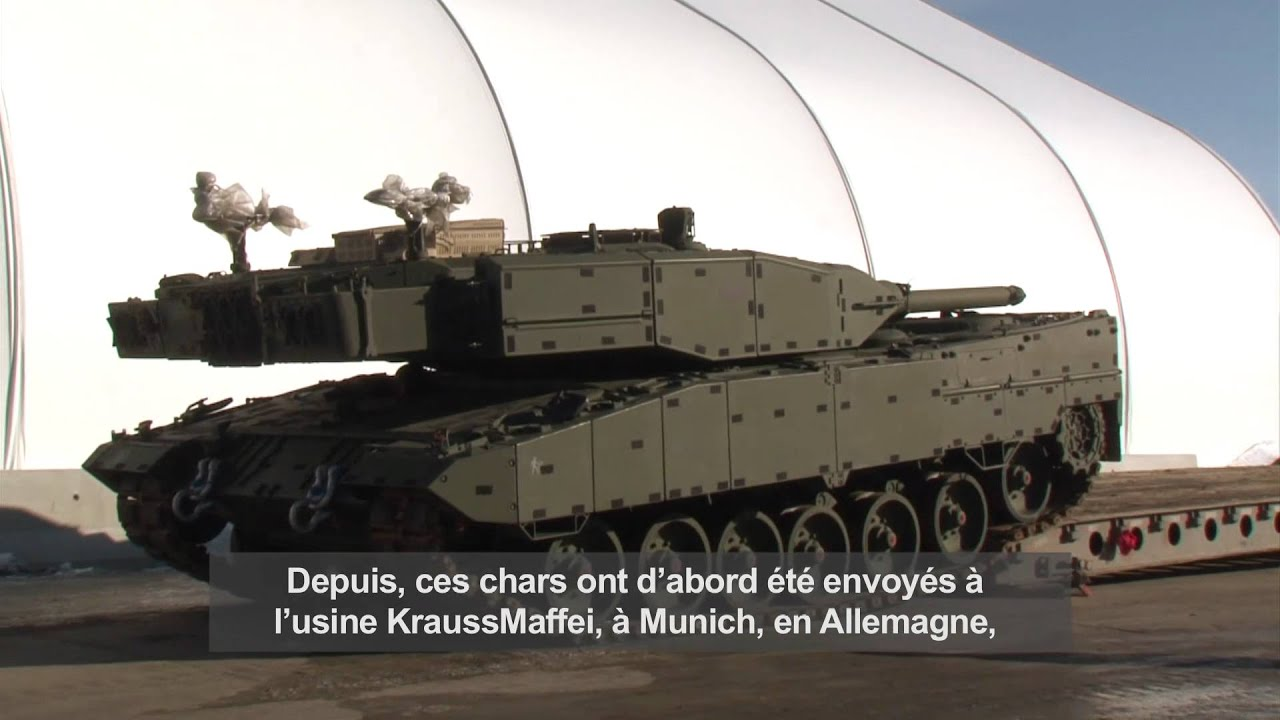 Army Tanks For Sale >> Le Canada dévoile ses nouveaux blindés Leopard - YouTube