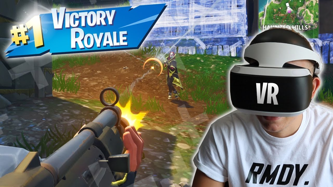 Playing Fortnite On The Vr Playstation Vr Youtube 360 vr video of fortnite for virtual reality headset vr box, google cardboard, oculus go, oculus rift, htc vive, playstation ps4 psvr. playing fortnite on the vr playstation vr