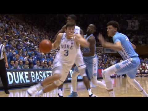 Top Plays: Duke 86, North Carolina 78 (2/9/17)
