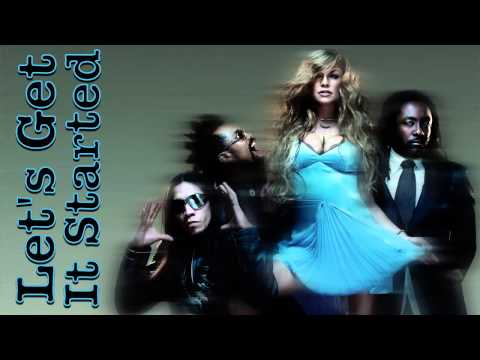 Black Eyed Peas - Let's Get It Started (Instrumental) HQ [Karaoke]