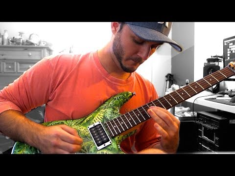 Ten Words - Joe Satriani (M3RKMUS1C Cover)