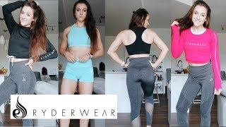 RYDERWEAR ATHLETIC CLOTHING REVIEW