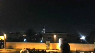 Dubai, Burj Khalifa Fireworks 2017 - New Year's Eve Fireworks
