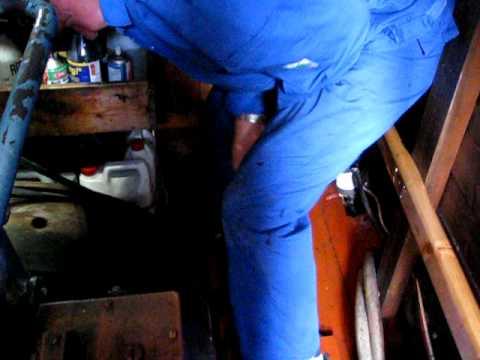 Semidiesel Brunvoll sk Berserk Stopp av maskin