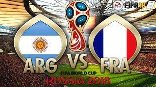 ARGENTINA VS FRANCIA | Viernes de FIFA