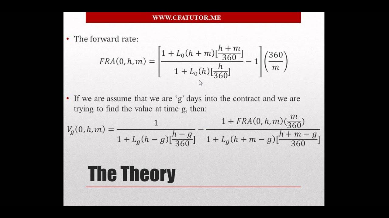 Forward pricing forward rate agreement fra cfa tutor youtube forward pricing forward rate agreement fra cfa tutor platinumwayz