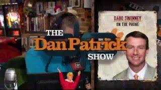 Dabo Swinney on The Dan Patrick Show (Full Interview) 1/7/16