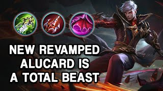 Download WOOOW! THE NEW REVAMPED ALUCARD IS A TOTAL BEAST | Mobile Legends
