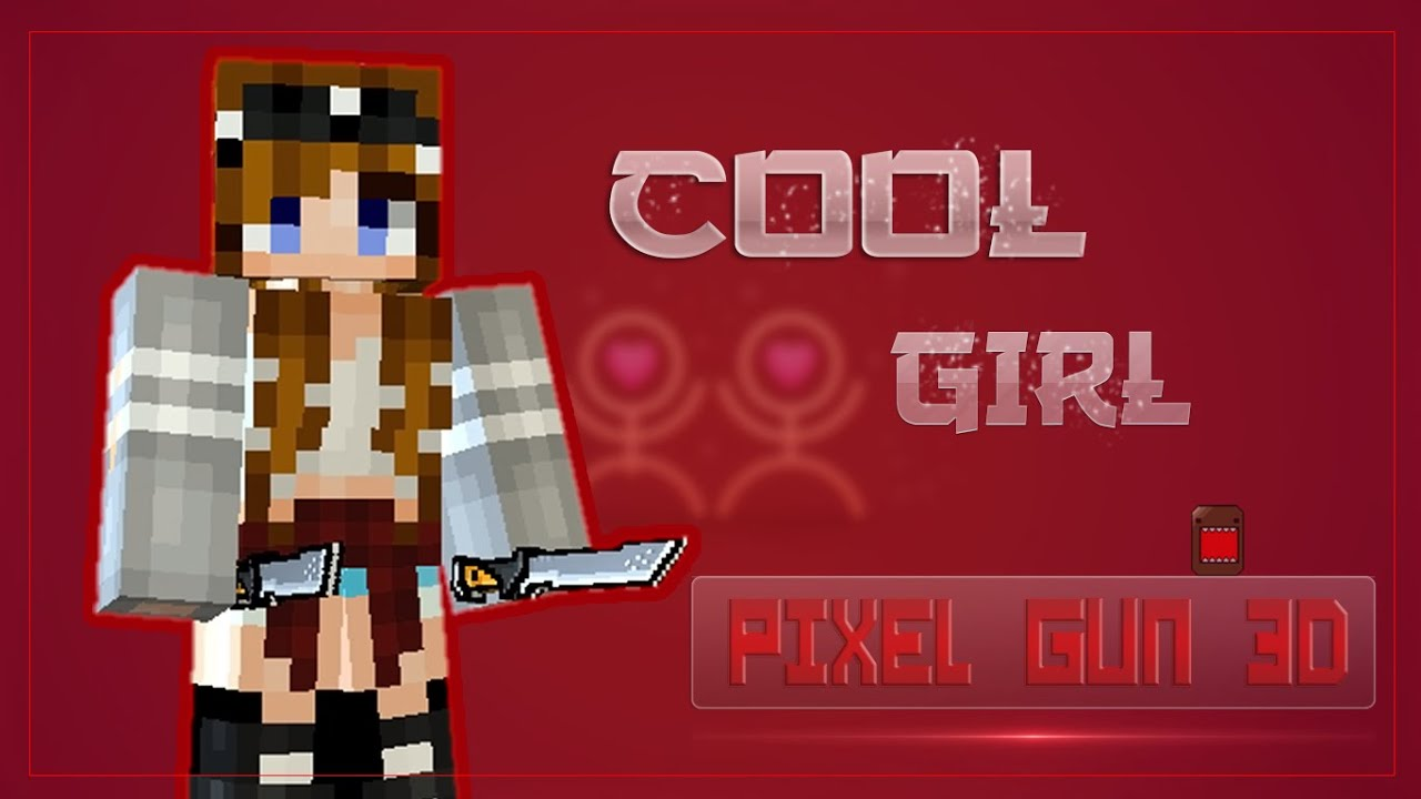 PIXEL GUN DHow To Make A Cool Girl SKIN YouTube - Skins fur minecraft madchen