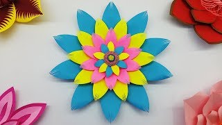 DIY Paper Flower Backdrop Wedding Decorations | Paper Flowers Craft