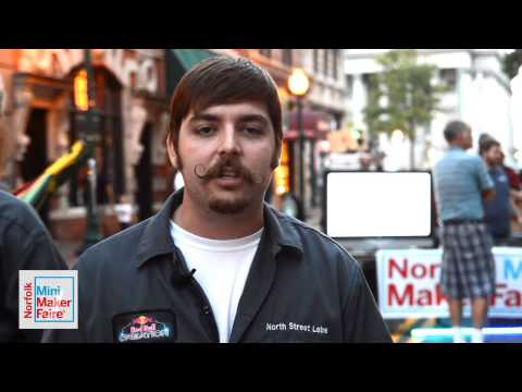North Street Labs - Hampton Roads Mini Maker Faire - Maker Minute