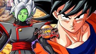 "BASE GOKU, BARDOCK & GOHAN ARE STRONGER THAN THE GODS! - Dragon Ball FighterZ: ""Base Goku"" Gameplay"