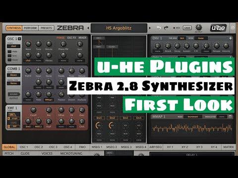 u-he Zebra 2.8 Modular SYNTHESIZER Update  - First Look!