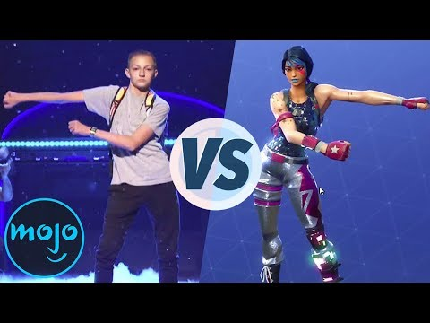 Top 10 Fortnite Dances & Where They're From