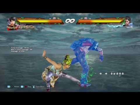 Tekken 7 - Punishing Hwoarang's RA With Ling