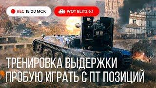 Wot Blitz - ПТвод вернулся. Тренировка выдержки на ПТ-САУ - World Of Tanks Blitz Wotb