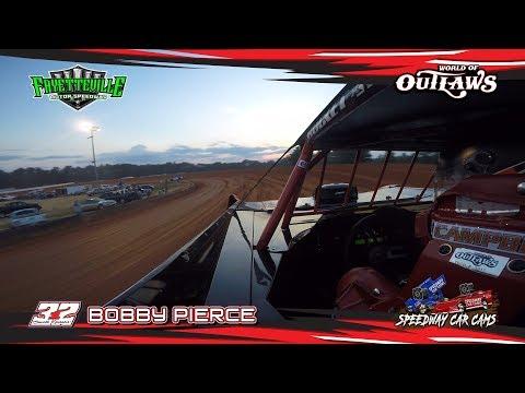 #32 Bobby Pierce - WoO Super Late Model - 5-12-18 Fayetteville Motor Speedway - In Car Camera