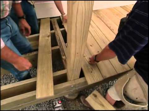 Building a Handicapped Access Ramp