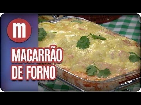 Macarrão de forno - Mulheres (14/07/17)
