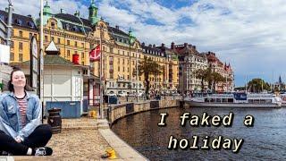I faked a holiday