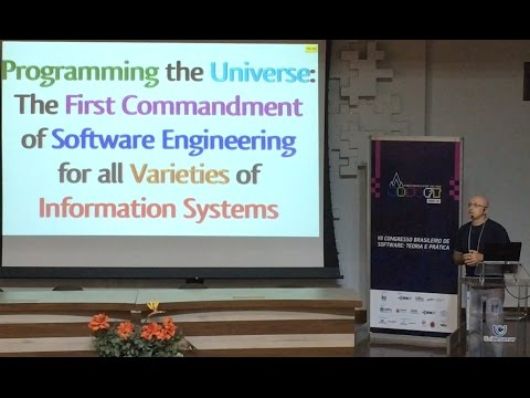 Programming the Universe: The First Commandment of Software Engineering ...