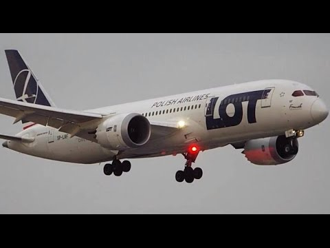 1 HOUR Plane Spotting - Toronto Lester B. Pearson Int