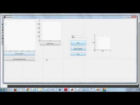 Real time Face recognition in Matlab with LBP