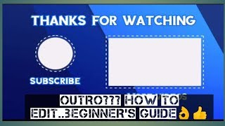 How I Edit my OUTRO   INTROMAKER   chietimtiman screenshot 1