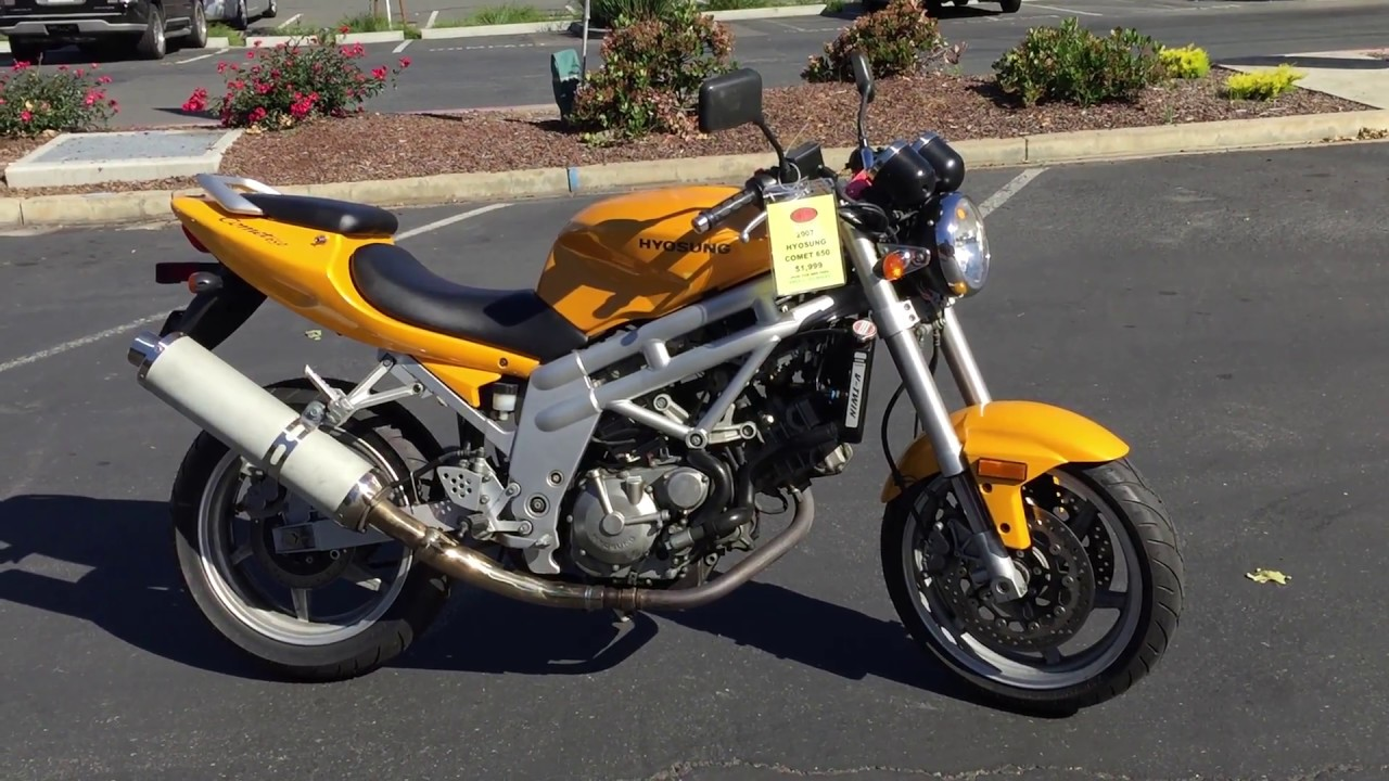 Contra Costa Powersports-Used 2007 Hyosung Comet 650 V-twin sport ...