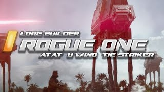 [No spoilers] Rogue One Release! Star Wars Space Engineers Walkers, U-wings and Tie Strikers!