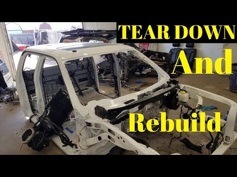 Rebuilding a Wrecked  Ford Raptor SVT bought from Copart Part 9