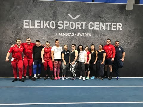 England Weightlifting Camp at Eleiko, Sweden 2018