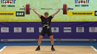 European Weightlifting Championships 2017 Men Senior 85 kg B