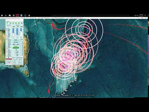 10/19/2017 -- East Coast Earthquake as expected -- Pacific EQ pressure spreading across plates