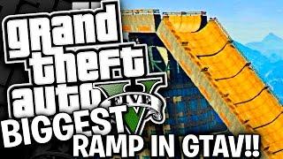 THE BIGGEST RAMP IN GTAV