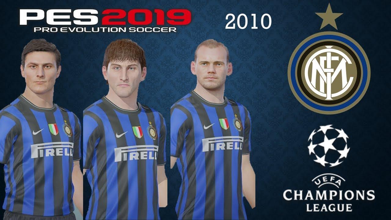 Inter Milan 2010 Pes 2019 Real Let S Game Youtube