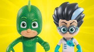 PJ Masks Toys | Romeo's Slime Attack! | Surprise Toys For Kids thumbnail