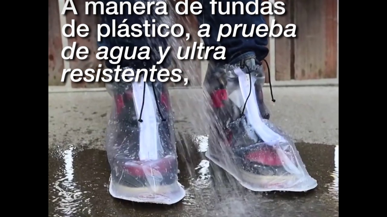 5cf6d54963c Dry Steppers - un  impermeable  para tus zapatos - YouTube