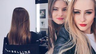 Vlog: Warsztaty Maybelline ♥ Dzień z Andziaks