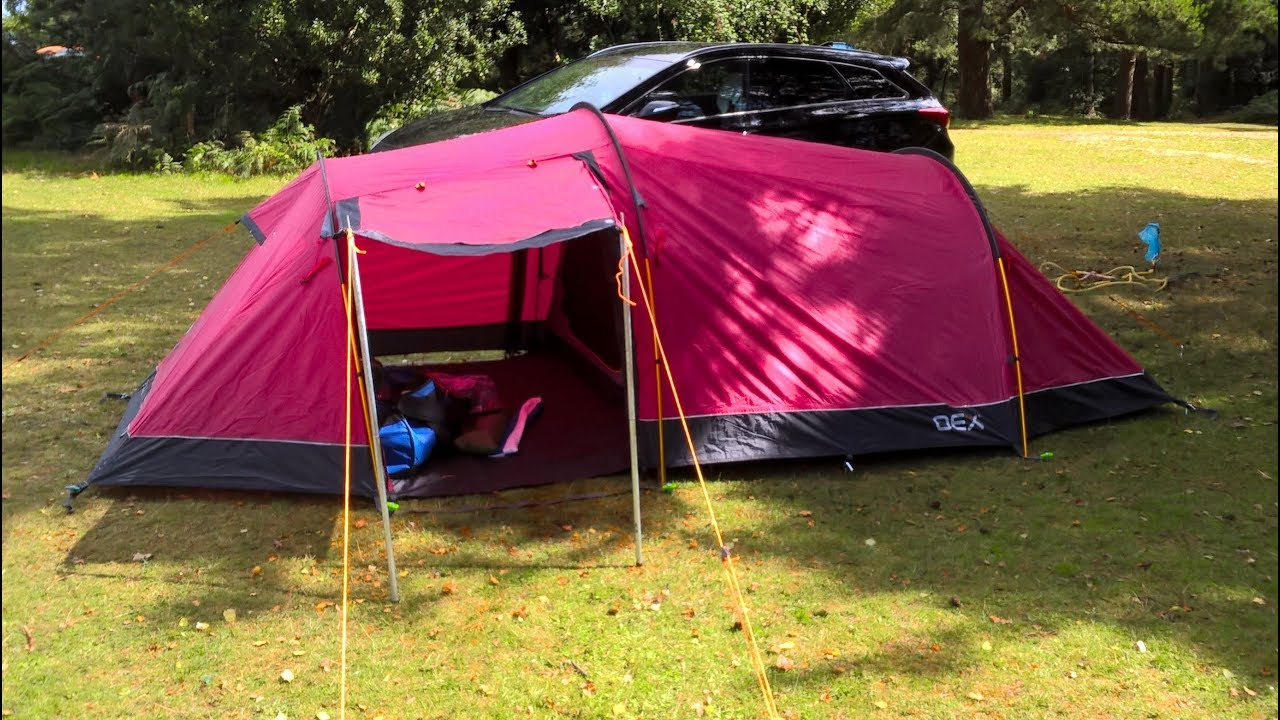 Stormy car c& and OEX Coyote 3 tent review & Stormy car camp and OEX Coyote 3 tent review - YouTube