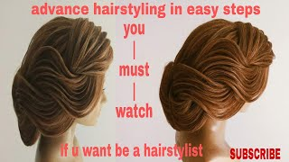 Advance hairstyling 2018/ hairstyle videos for woman/hairstyling for long hair/modern hairstyle 2018