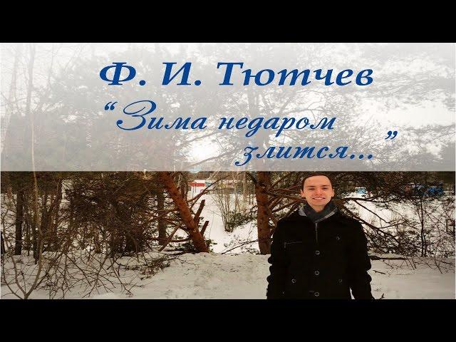 Изображение предпросмотра прочтения – АлександрДаньшов читает произведение «Весна (Зима не даром злится…)» Ф.И.Тютчева