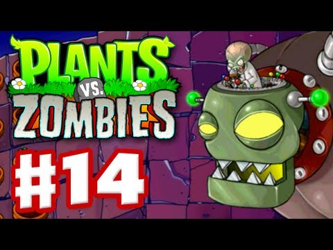 Plants vs Zombies - Gameplay Walkthrough Part 14 - World 5 Boss Fight (HD)