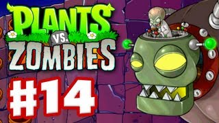 Video Plants vs Zombies - Gameplay Walkthrough Part 14 - World 5 Boss Fight (HD) download MP3, 3GP, MP4, WEBM, AVI, FLV April 2018
