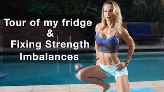 Tour of My Fridge & How To Fix Strength Imbalances Coffee Talk with Z