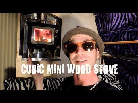Cubic Mini Wood Stove for Van Life