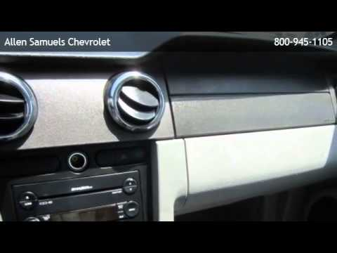 2007 ford mustang coupe deluxe bellaire youtube. Cars Review. Best American Auto & Cars Review