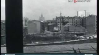 Строительство гостиницы Интурист. 1967 год.